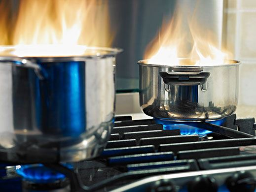 Fire Safety Cooking