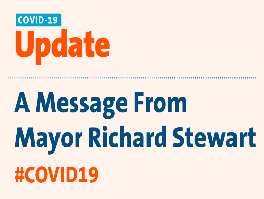Message From the Mayor Image