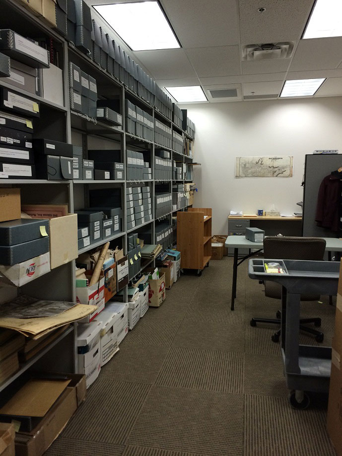 City Hall Archives Room - January 2015 (JPG) Opens in new window
